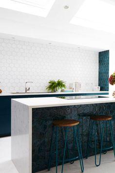 #newterracotta #handmadetiles #mysteryteal #tealtiles Terracotta, Kitchen Design, Tiles, Mystery, Teal, Interior Design, Furniture, Home Decor, Room Tiles