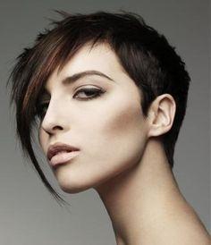 Girly Short Layered Hair Styles