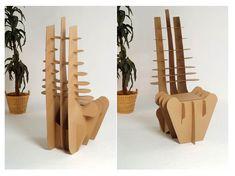 deviantART: More Like CardBoard Chair by ~Drezuda