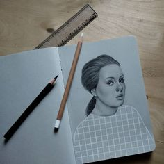 """Last one, promise  #adele #sketch"" Photo taken by @madeby.prince on Instagram, pinned via the InstaPin iOS App! http://www.instapinapp.com (12/02/2015)"