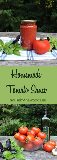 Recipe for simple and delicious homemade tomato sauce. Lets use those extra tomatoes and enjoy them over the winter!
