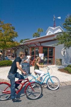 Seabrook Island residents and visitors alike enjoy biking along the inter-island bike path that runs through Freshfields Village. Seabrook Island, Pack Up And Go, Charleston Style, Bike Path, Low Country, Sweet Life, Vacation Ideas, Biking, South Carolina
