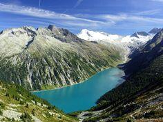 Mayrhofen - Schlegeisspeicher - Tyrol,Austria.