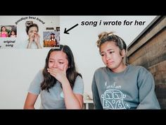 sister reacts to song i wrote for her *she cried* Best Friends Sister, Sister Love, Sister Songs, Cry Youtube, Sister Necklace, Mood Songs, Sad Stories, Original Music, Saddest Songs