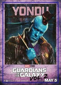 Guardians of the Galaxy Vol. 2 Yondu Poster