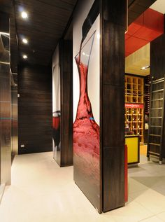 El Mundo del Vino wine store by Droguett A, Santiago – Chile » Retail Design Blog