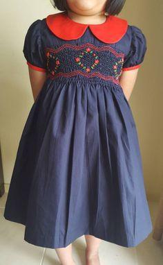 324a65f27 15 Best Smocked Christmas dress images | Girls dresses, Heirloom ...