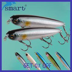 SMART Top Water Pencil Baits125mm27.8g VMC Treble Hook Hard Fishing Lure Iscas Artificial Para Pesca Leurre Peche Souple