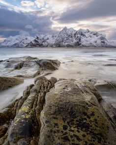 Flakstad mountains - Vareid, Lofoten, Norway