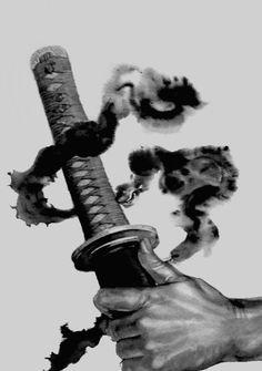 One Piece Aesthetic - Zoro Aesthetic Ninja Kunst, Arte Ninja, Ninja Art, Vagabond Manga, Ronin Samurai, Samurai Artwork, Miyamoto Musashi, Cool Swords, Ghost Of Tsushima
