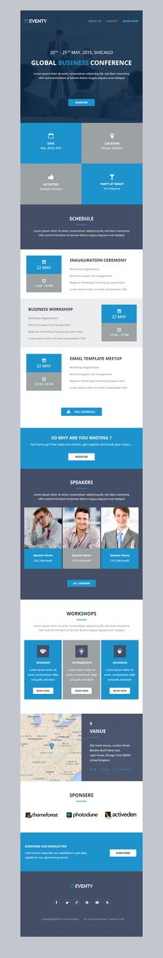 Event Notification Email Template