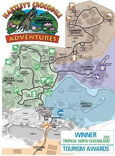 Explore Hartley's Crocodile Adventures Cairns #ecotourism #Queensland #Australia