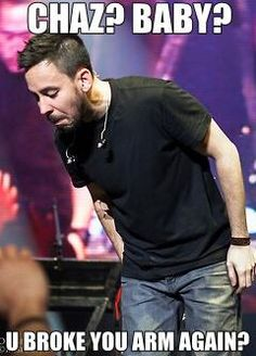 Hahaha I laughed more than I probably should have :D Mike Shinoda, Music Love, Music Is Life, Smile Meme, Funny, Hilarious, Joe Hahn, Rob Bourdon, Linkin Park Chester
