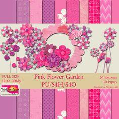 OklahomaDawn: Pink Flower Garden*