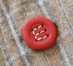 Make Your Own Monogram Buttons With Fimo Clay + Cork + Tooth Picks