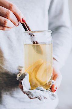 Sleep-Well Banana Tea