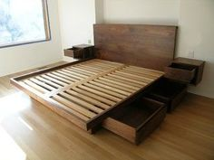 Image result for floating platform bed plans