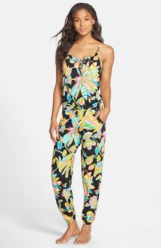 Trina Turk 'Tahitian Floral' Jumpsuit available at #Nordstrom