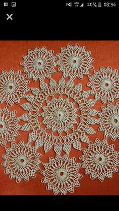 This Pin was discovered by Bah Needle Lace, Needle And Thread, Teneriffe, Crochet Sunflower, Crochet Tablecloth, Crewel Embroidery, Baby Knitting Patterns, Hobbies And Crafts, Couture