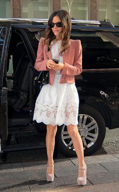 Dress for Less Shopping Preppy Sofisticado: Rachel Bilson