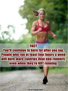 Run! Good to know