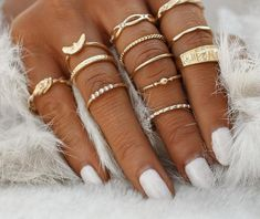 Cheap ring set, Buy Quality rings set for women directly from China finger ring set Suppliers: 12 pc/set Charm Gold Color Midi Finger Ring Set for Women Vintage Boho Knuckle Party Rings Punk Jewelry Gift for Girl Punk Jewelry, Charm Jewelry, Boho Jewelry, Jewelry Gifts, Jewelry Accessories, Women Jewelry, Jewelry Watches, Charm Rings, Gothic Jewelry