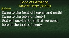 hymns for pentecost 2 2015
