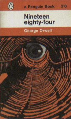 Penguin Books - Nineteen Eighty-Four Sci Fi Genre, Nicholas Nickleby, Nineteen Eighty Four, Alone In The Dark, Vintage Book Covers, George Orwell, Penguin Books, Book Cover Art, Cover Pics