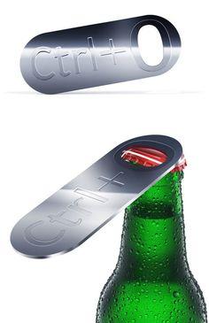Cool bottle opener