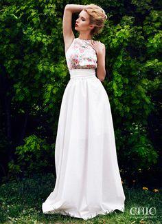 Платье в Пол Шелковое