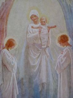 Thou Visitest The Earth And Blesseth It by Margaret Tarrant