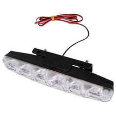 Car Styling DRL 6 LEDs Car Daytime Running Lights Car daytime LED light  Waterproof DC 12V #HP