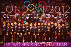Twitter / kifovka13: #WoSo #OlympicGoldMedalists ...