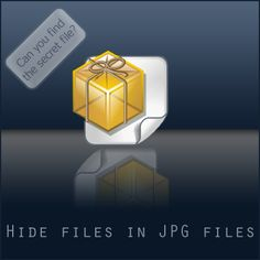 How to hide files in a jpg | Aquanets.org