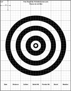 For the record I'm not a gun advocate, I just think shooting target graphics are pretty interesting. Crossbow Targets, Diy Crossbow, Crossbow Arrows, Crossbow Hunting, Shooting Targets, Shooting Guns, Shooting Range, Shooting Sports, Shooting Club