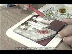 Tv Transamérica - Técnica: Arte francesa - YouTube Master Class, Cool Art, Printables, Crafty, Youtube, Handmade, Vintage, Craft Videos, Decoupage
