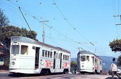 Brisbane 1968 - last of the trams