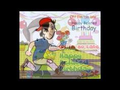 Belated Birthday Ecards Images Wishes Greeting Card Ecard E Egreetings