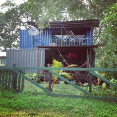 two-story-container-home-, my costa rica jungle beach home for sale! $95 K or Best Offer. Super cute and modern, fully furnished as well!!
