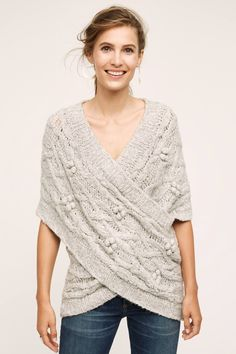 Shop the Cabled Crossover Wrap and more Anthropologie at Anthropologie today. Read customer reviews, discover product details and more.