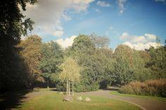 Herbstlicher Park  #momentaufnahme #herbst #leipzig