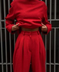 #bold #red #fashion