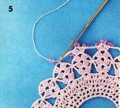 Crocheter avec des perles