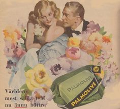 Reklam för Palmolive-tvål
