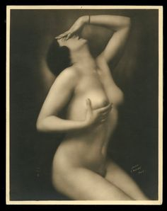 French 1920s Youthful NUDE Exceptional Seductive MANDEL Photo ~ PARIS Latest!