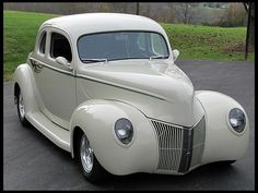 1940 Ford Coupe Street Rod All Steel Body