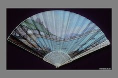 Fan, skin and ivory, Italian, late 18th century. The Met