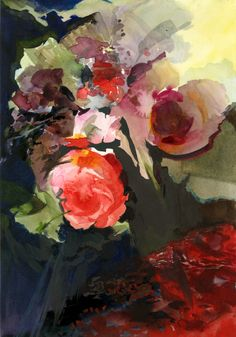#painted fleurs...