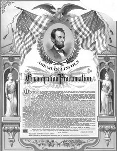 Lincoln issues Emancipation Proclamation on January 1, 1863. It was issued to free all slaves but did not get to Texas Until 2 years after