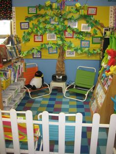Reading area idea!